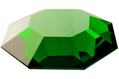 Solated on a white diamond Royalty Free Stock Image