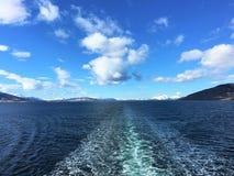 Solbergsund, Norvegia Fotografie Stock
