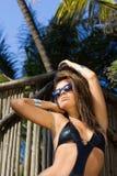 solbränt tropiskt Royaltyfria Bilder