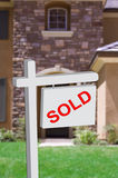 Sold Home Illustration Royalty Free Stock Images