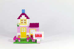 Sold House Stock Images