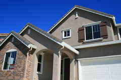 Sold House. Close up of a new sold house Stock Photography