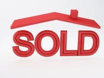 Sold house Stock Photos