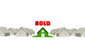 Sold House Stock Photos