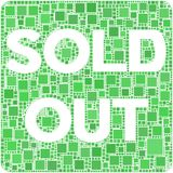 Sold Out! Royalty Free Stock Photo