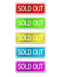 Sold Out Royalty Free Stock Photo