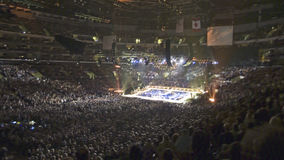 Sold out crowd for Barbara Streisand concert Stock Images