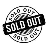 Sold Out rubber stamp Royalty Free Stock Images