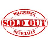 Sold out. Rubber stamps with text sold out inside,  illustration Royalty Free Stock Photo