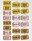 Sold out sign Stock Photo