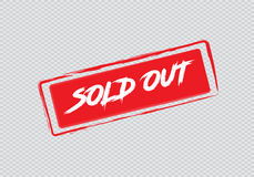 Sold out Royalty Free Stock Photos