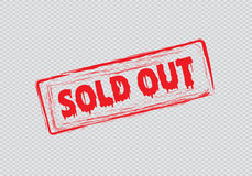 Sold out Royalty Free Stock Image