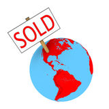 Sold planet Royalty Free Stock Photography