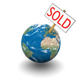 Sold planet Stock Images