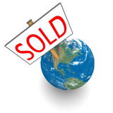 Sold planet Stock Photo