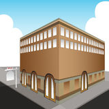 Sold Public Office Building. An image of a sold public office building Royalty Free Stock Image