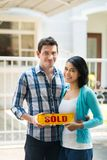 Sold-sign Stock Photo