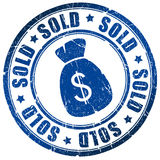 Sold stamp Stock Photos