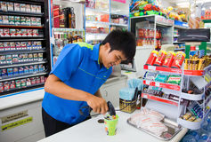 Sold in store Family Mart. Thailand. Phuket. Patong Royalty Free Stock Photography