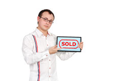 Sold symbol Stock Photography