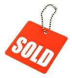 Sold Tag Royalty Free Stock Photos