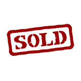 Sold. Vector Format Stock Photography