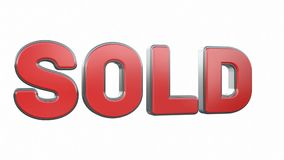 Sold stock video footage