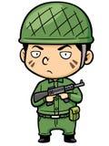 soldado Imagen de archivo libre de regalías