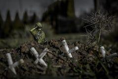 soldado imagen de archivo