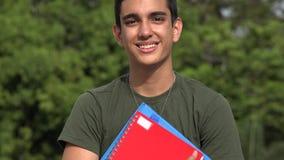 Soldado adolescente de sexo masculino And Student almacen de video