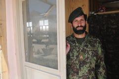 Soldado afgano Foto de archivo