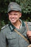 Soldado alemán de WW2 Imágenes de archivo libres de regalías