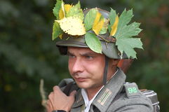 Soldado alemán de WW2 Imagen de archivo libre de regalías