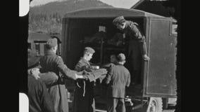 Soldado alemán herido Transport metrajes