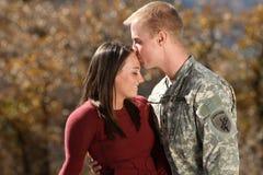 Soldado americano Foto de archivo libre de regalías