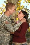 Soldado americano imagen de archivo