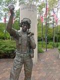Soldado americano Statue durante la guerra del golfo Pérsico Fotografía de archivo