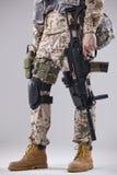 Soldado armado Imagens de Stock Royalty Free