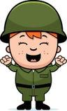 Soldado Boy Excited libre illustration