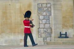 Soldado británico Fotografía de archivo
