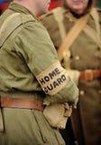 Soldado británico del protector casero Imágenes de archivo libres de regalías