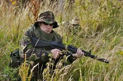 Soldado britânico Fotografia de Stock Royalty Free