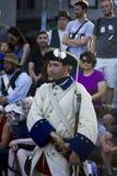 Soldado canadiense francés del festival Fotografía de archivo libre de regalías