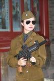 Soldado chinês Fotos de Stock Royalty Free
