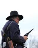 Soldado Civil War de la unión Imágenes de archivo libres de regalías