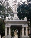 Soldado confederado Memorials en el sur Imagenes de archivo