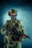 Soldado da força especial imagens de stock royalty free