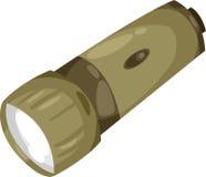 Soldado da lanterna elétrica ilustração do vetor