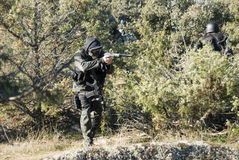 Soldado de Airsoft Fotografia de Stock