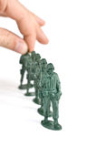 Soldado de brinquedo Fotos de Stock